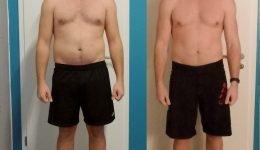 Fitness Transformation Männer