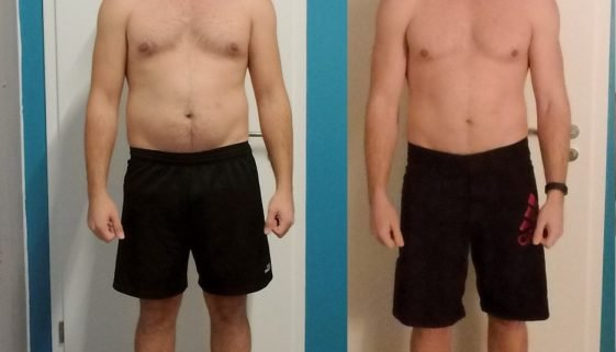 Fitness Transformation Männer