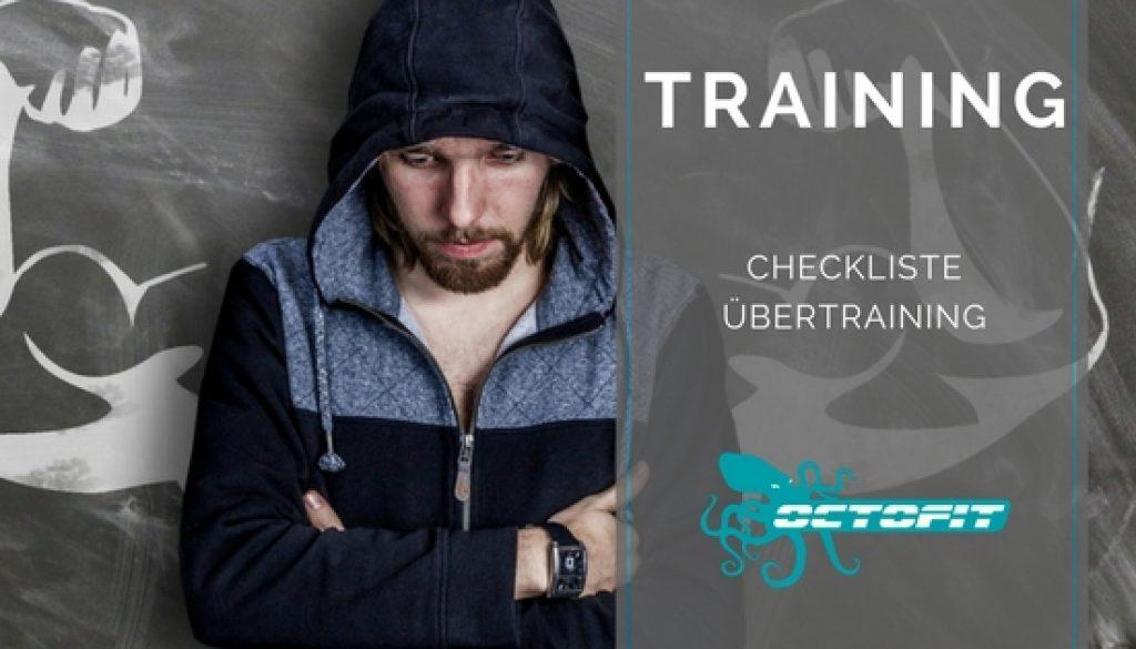 Checkliste Uebertraining - Octofit