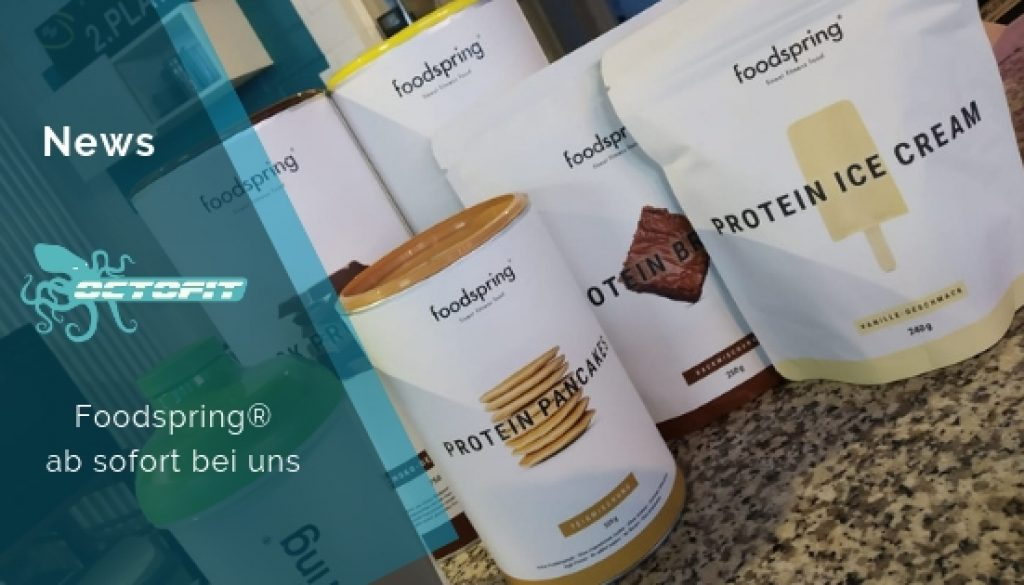 Foodspring ab sofort bei uns - Octofit