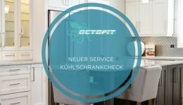 Neuer Service Kühlschrankcheck - Octofit