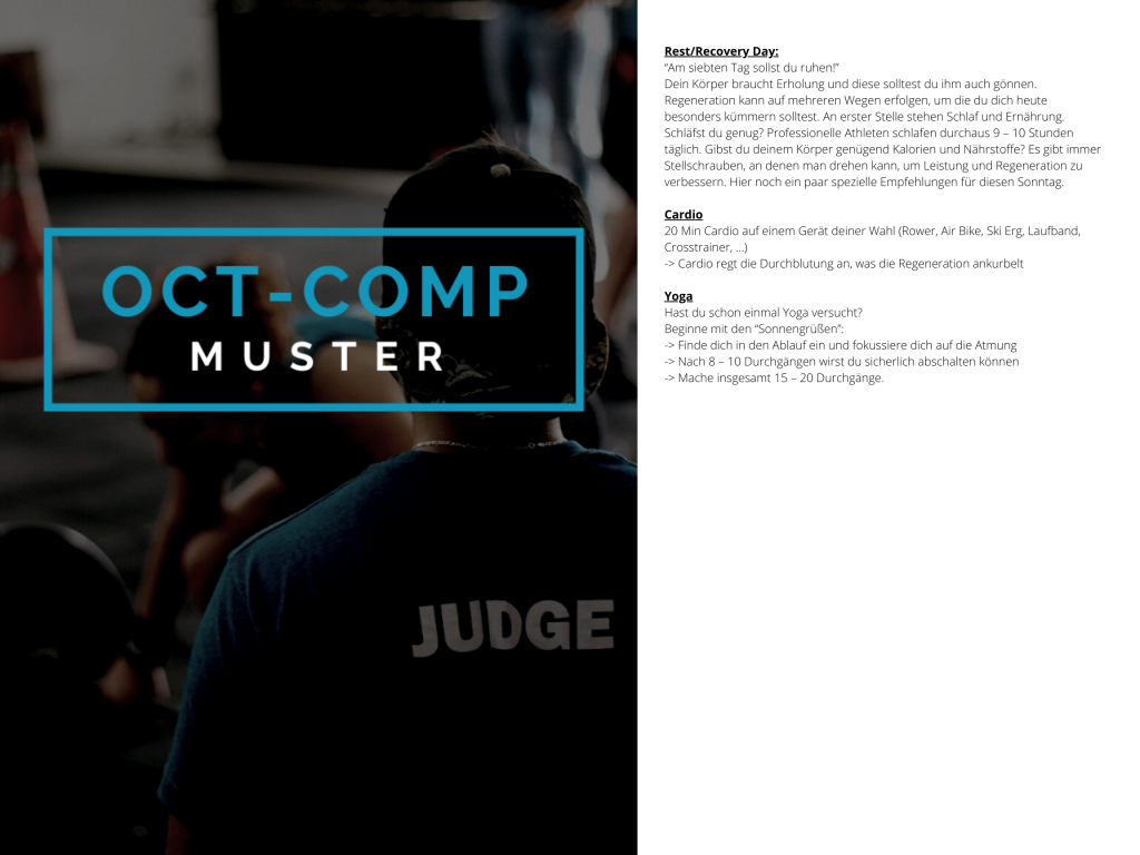 OCT-COMP Muster WOD 4