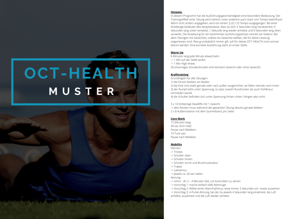 OCT-HEALTH Muster WOD 3