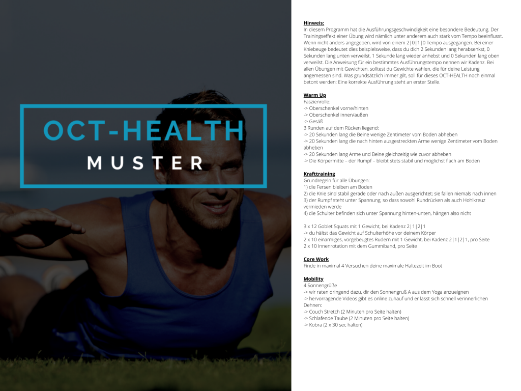 OCT-HEALTH Muster WOD 4