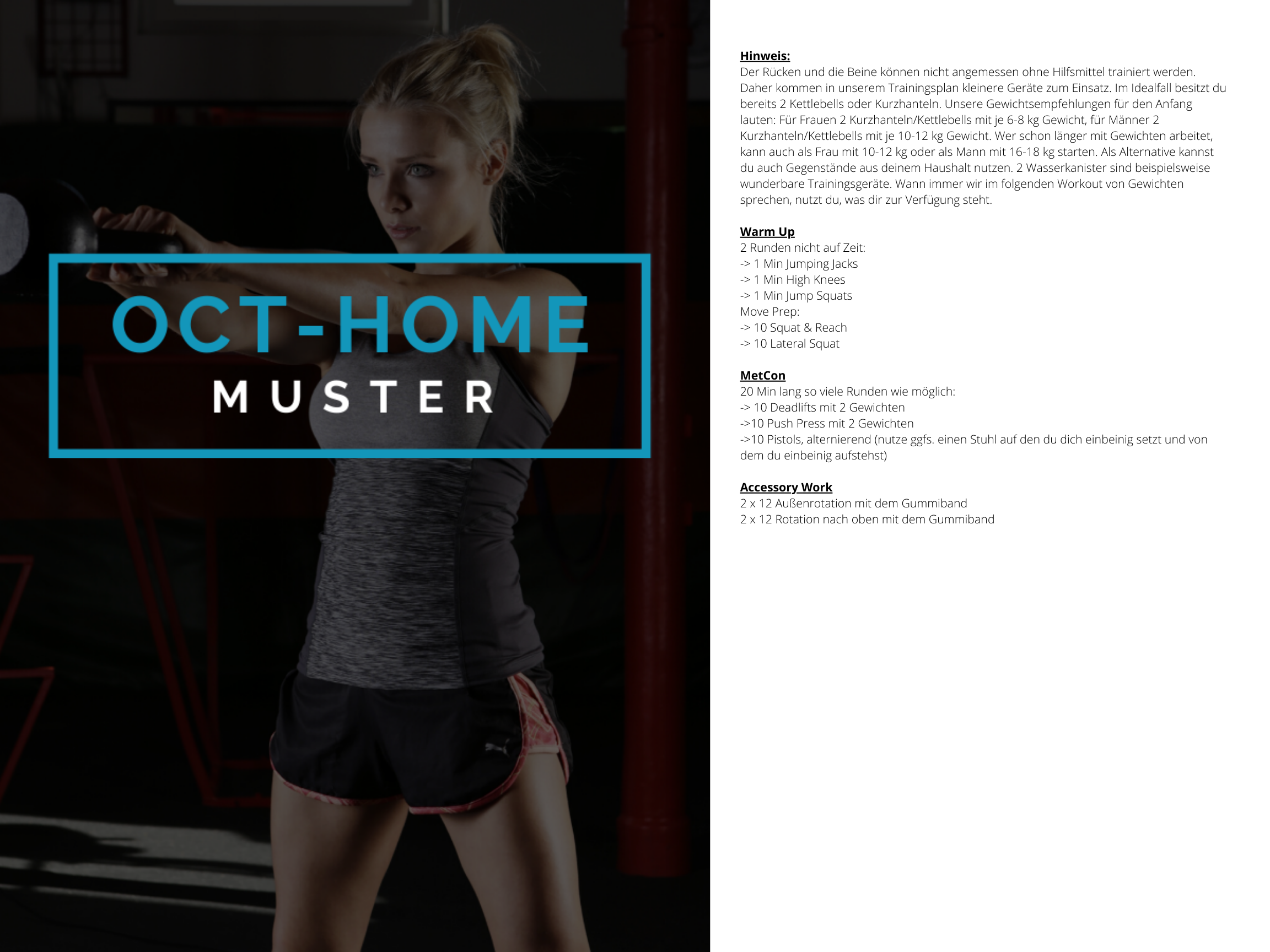 OCT-HOME Muster WOD 1