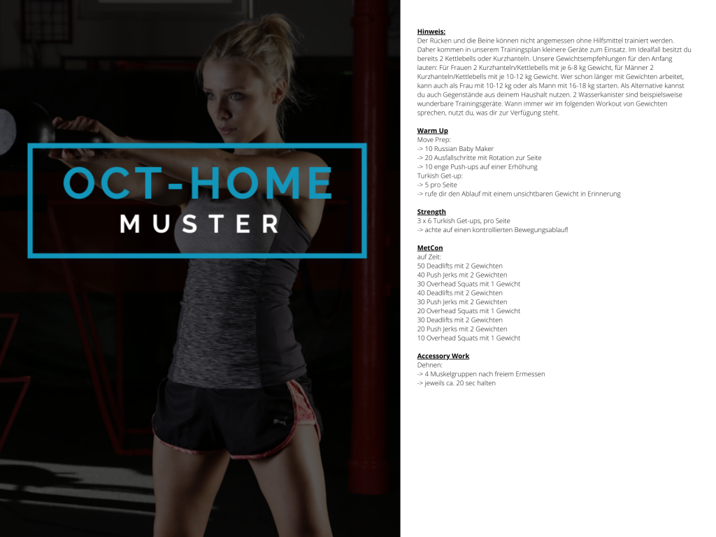 OCT-HOME Muster WOD 4