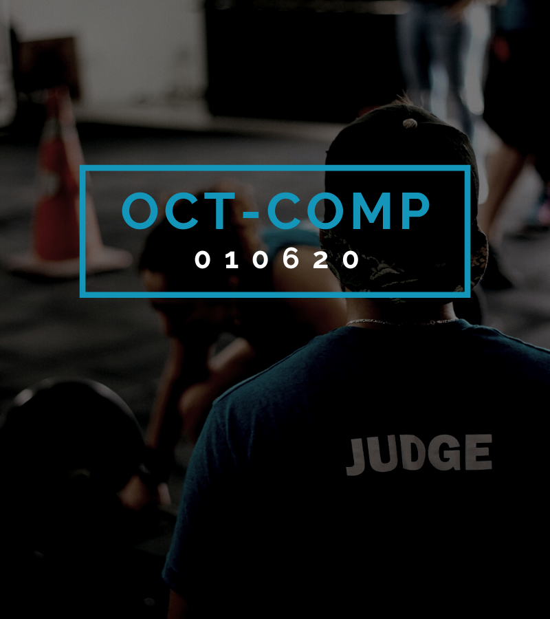 Octofit Competition Programming OCT-COMP 010620