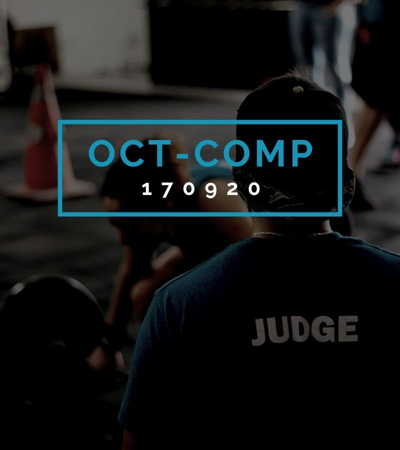 Octofit Competition Programming OCT-COMP 170920