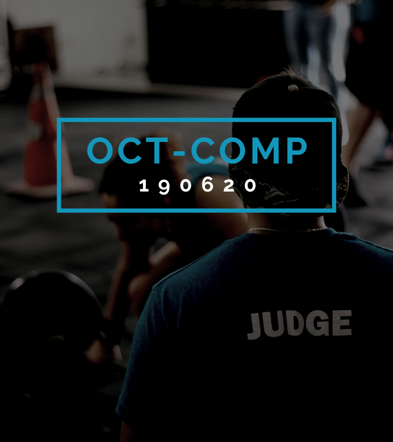 Octofit Competition Programming OCT-COMP 190620