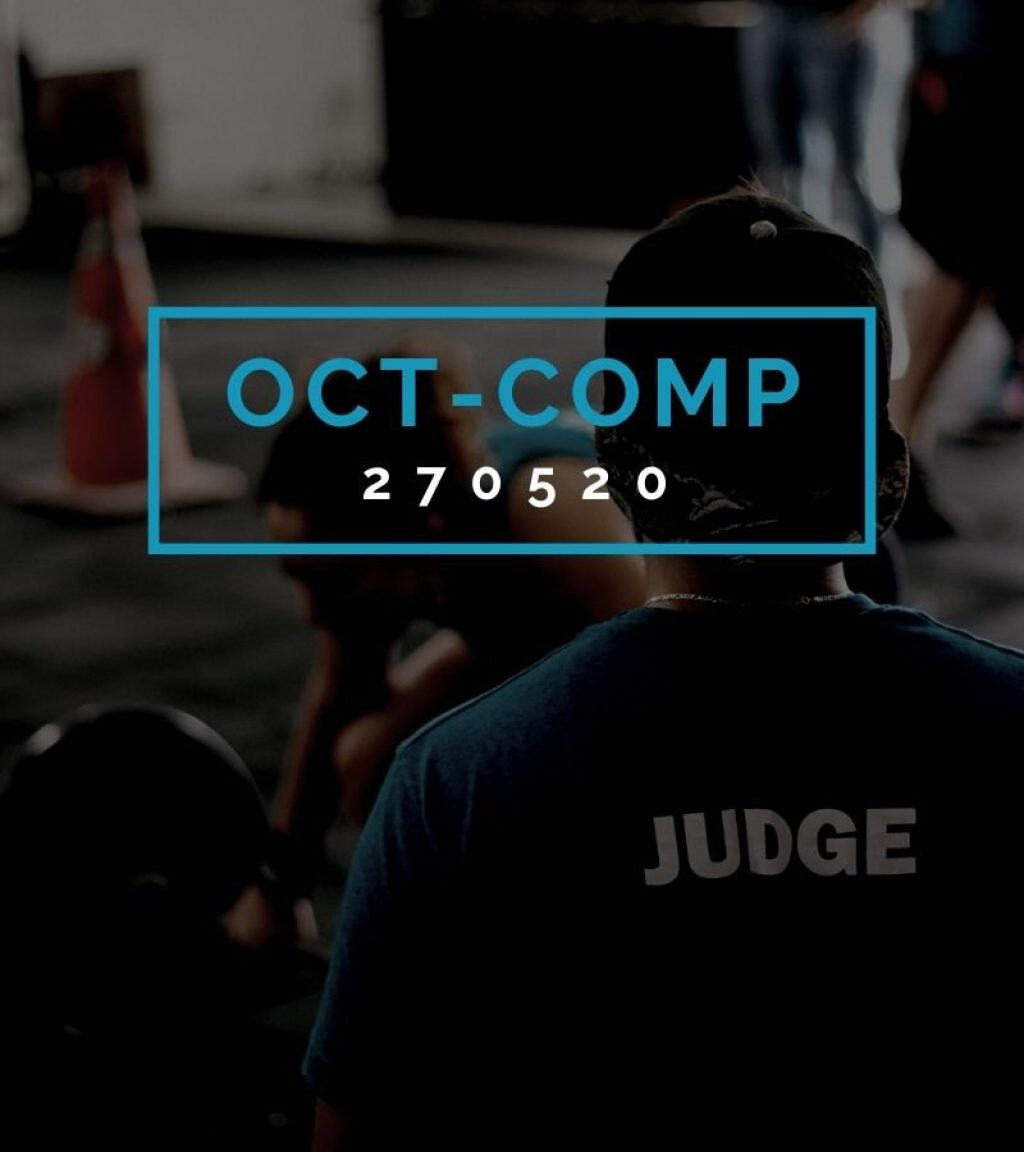 Octofit Competition Programming OCT-COMP 270520