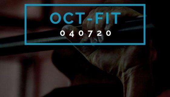 Octofit Fitness Programm OCT-FIT 040720