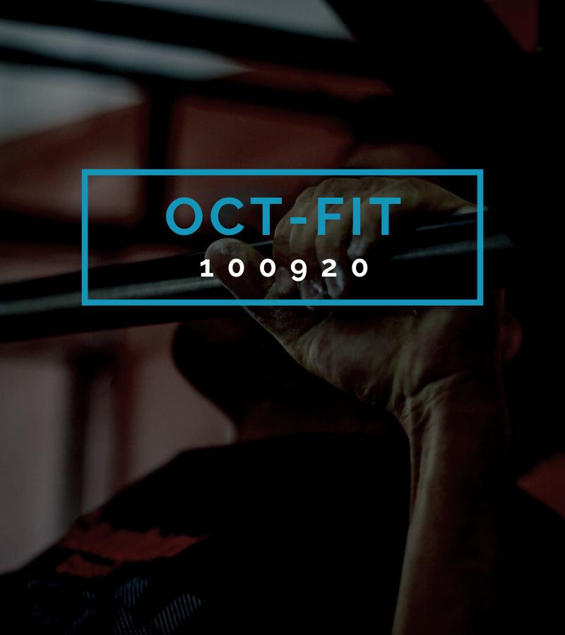 Octofit Fitness Programm OCT-FIT 100920