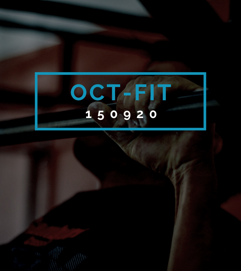 Octofit Fitness Programm OCT-FIT 150920