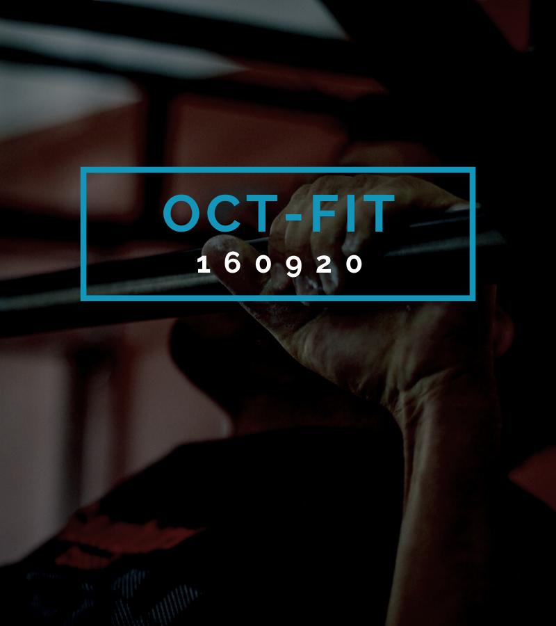 Octofit Fitness Programm OCT-FIT 160920