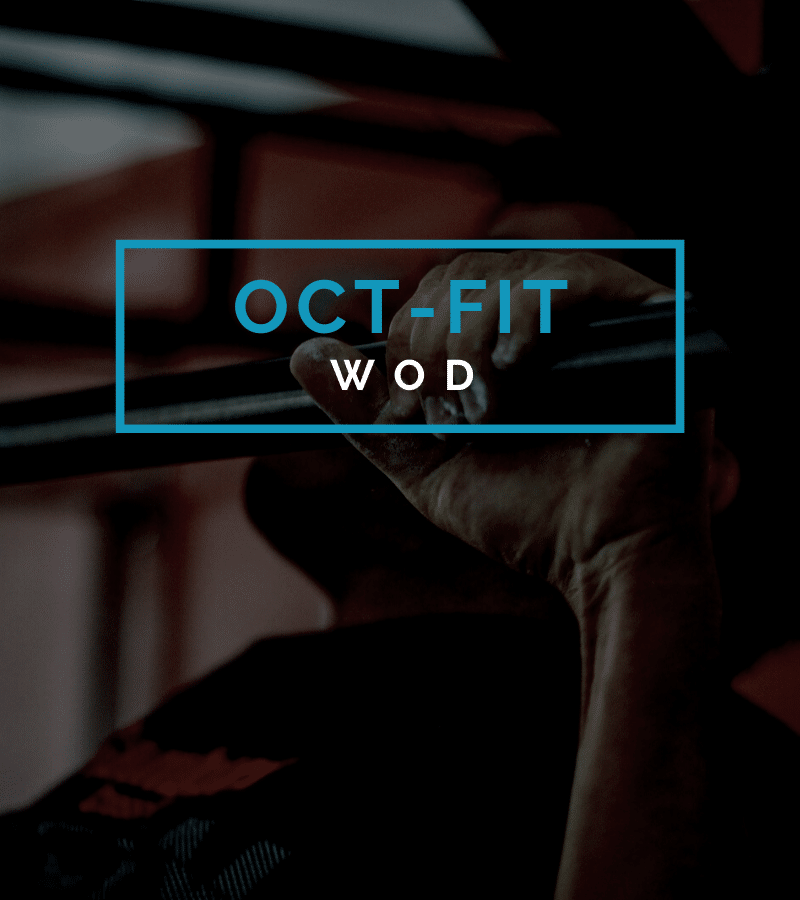 Octofit Fitnesstraining Programming Fitness Programm Fitness Workout WOD