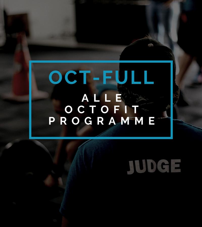 Octofit Full Programm