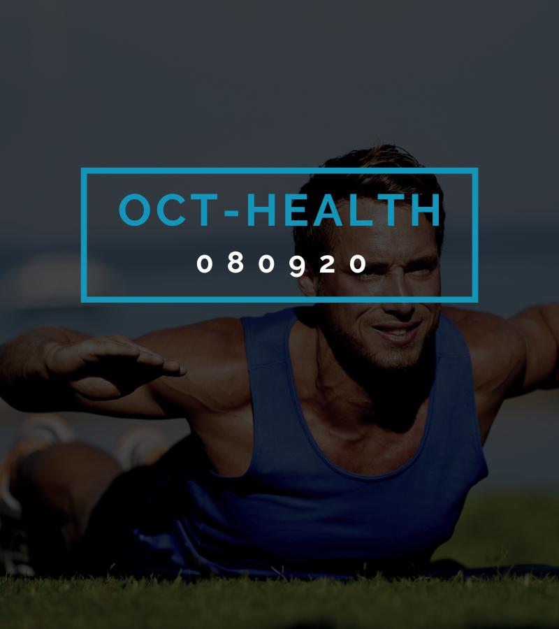 Octofit Gesundheits Programming OCT-HEALTH 080920