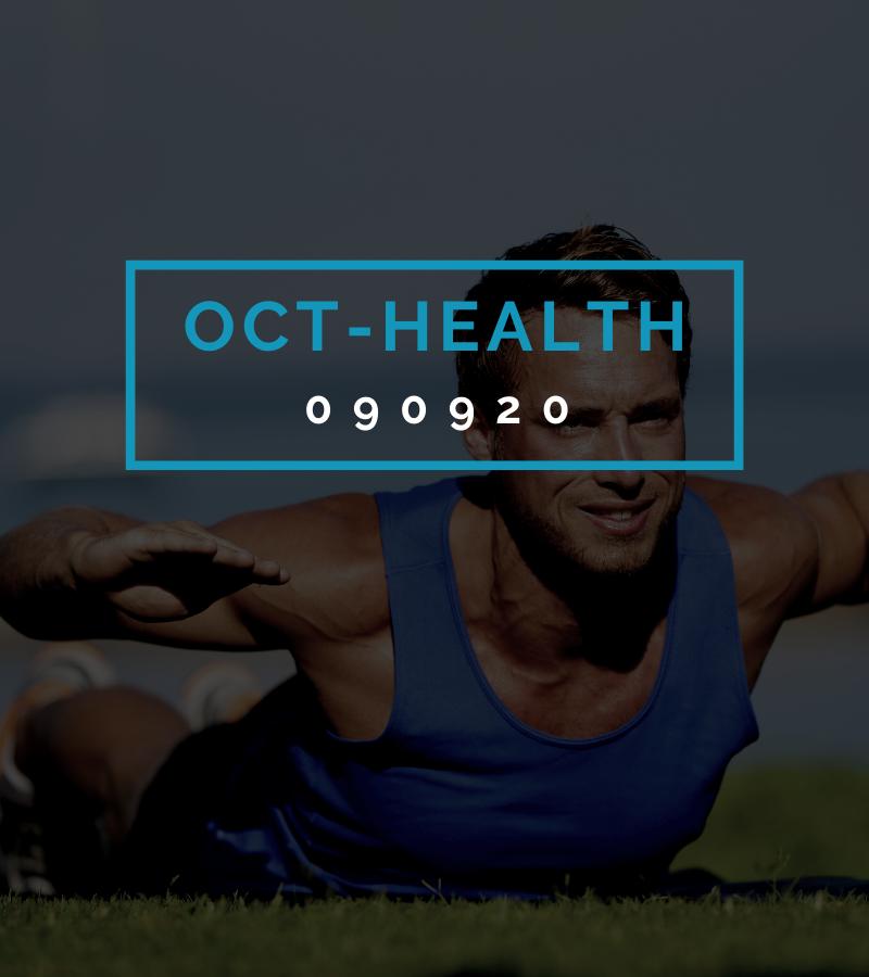 Octofit Gesundheits Programming OCT-HEALTH 090920