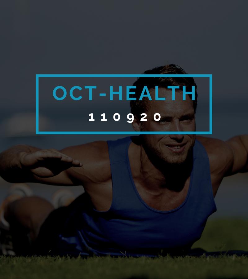 Octofit Gesundheits Programming OCT-HEALTH 110920