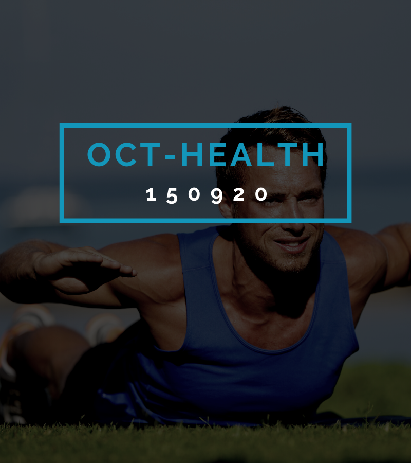 Octofit Gesundheits Programming OCT-HEALTH 150920