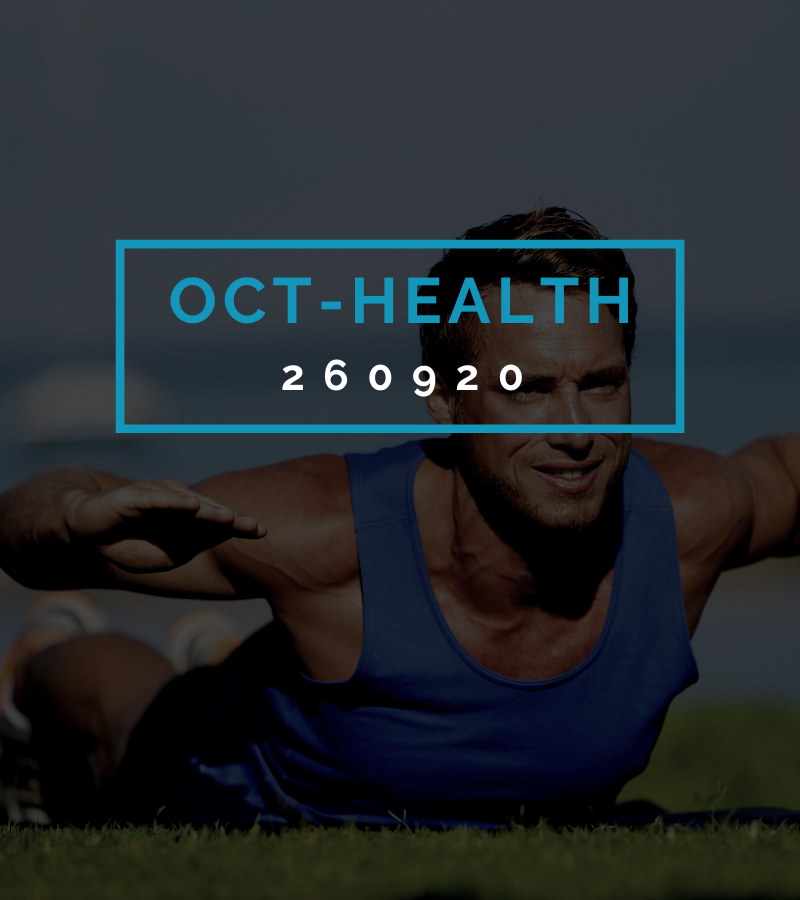 Octofit Gesundheits Programming OCT-HEALTH 260920