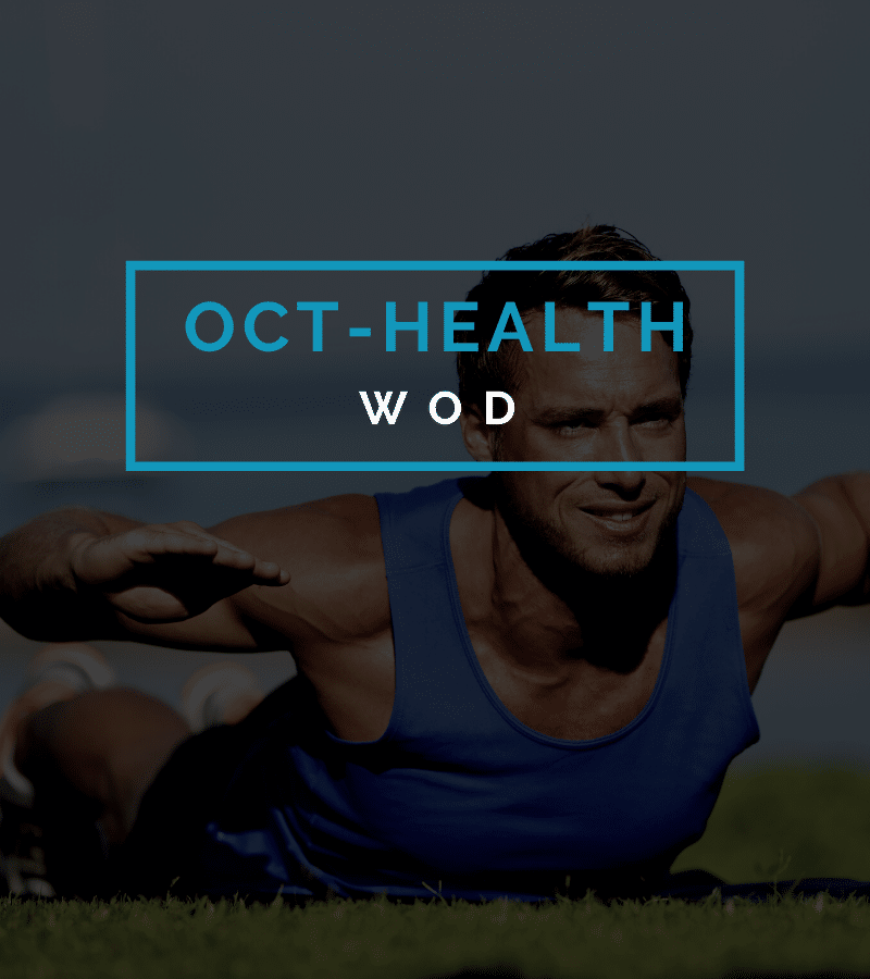 Octofit Gesundheitstraining Programming Health Workout WOD