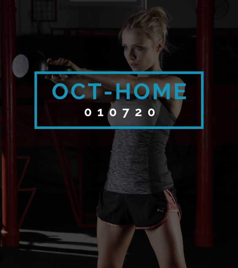 Octofit Heimtraining Programming OCT-HOME 010720