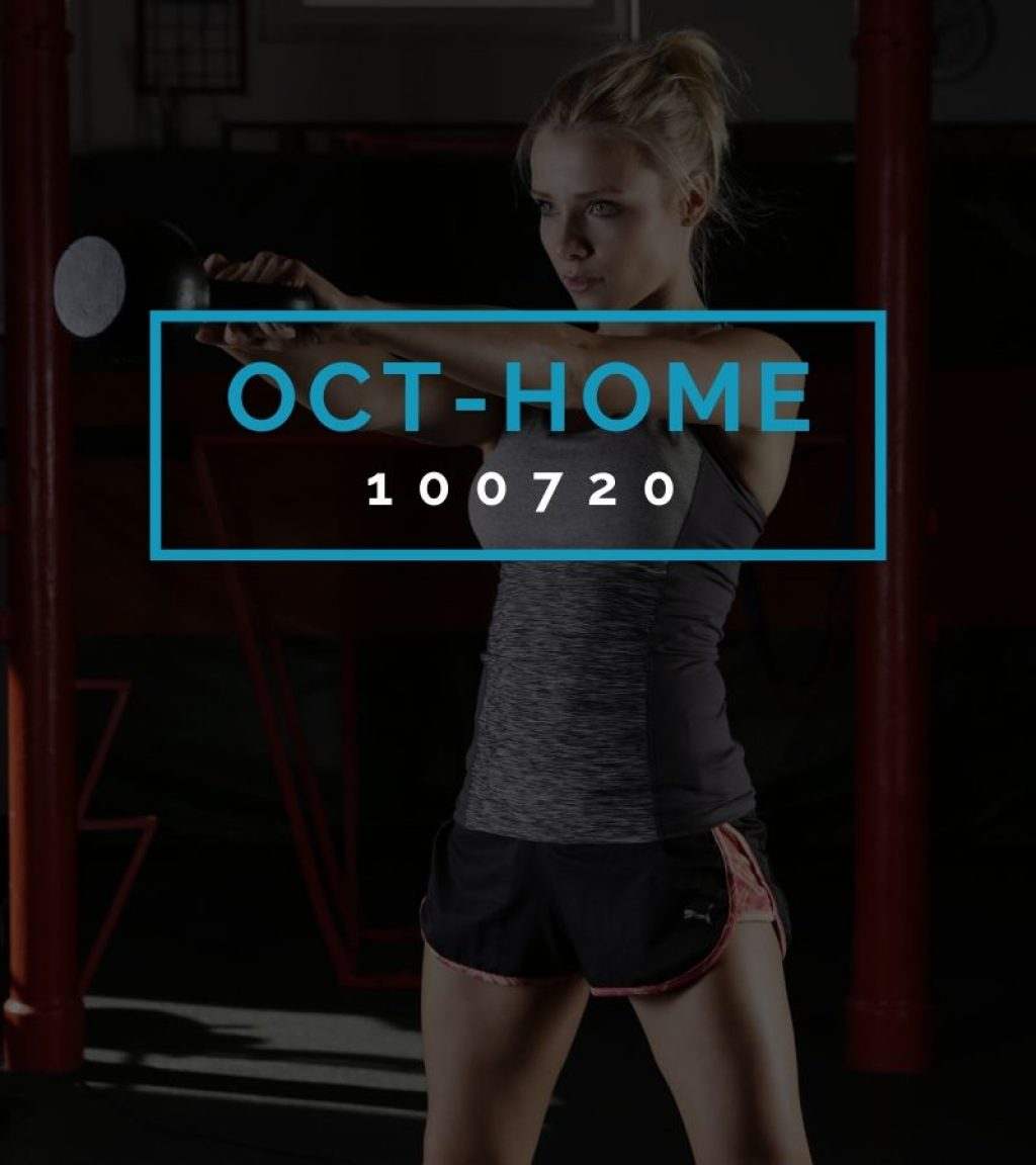 Octofit Heimtraining Programming OCT-HOME 100720