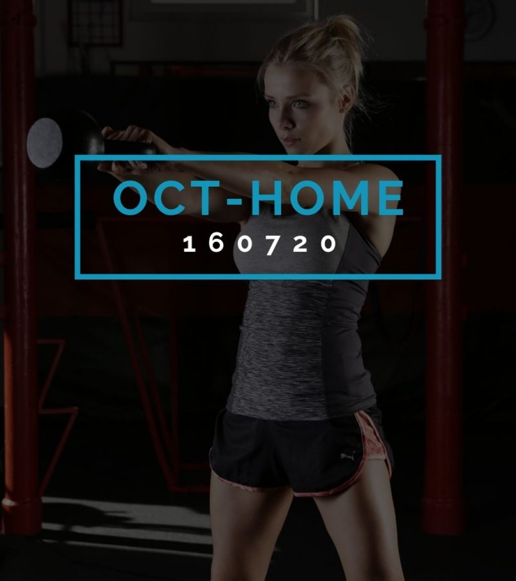 Octofit Heimtraining Programming OCT-HOME 160720