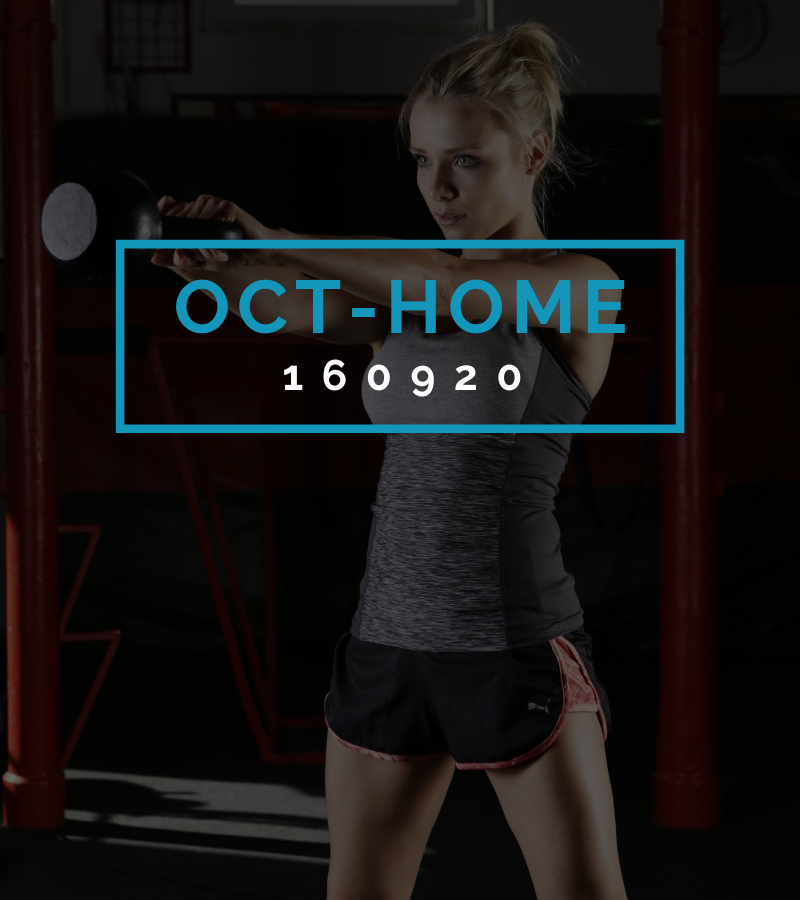 Octofit Heimtraining Programming OCT-HOME 160920