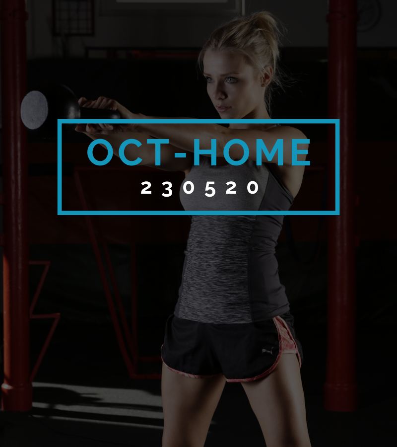 Octofit Heimtraining Programming OCT-HOME 230520