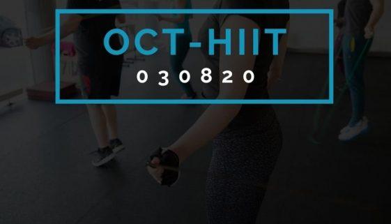 Octofit High Intensity Intervall Programming OCT-HIIT 030820