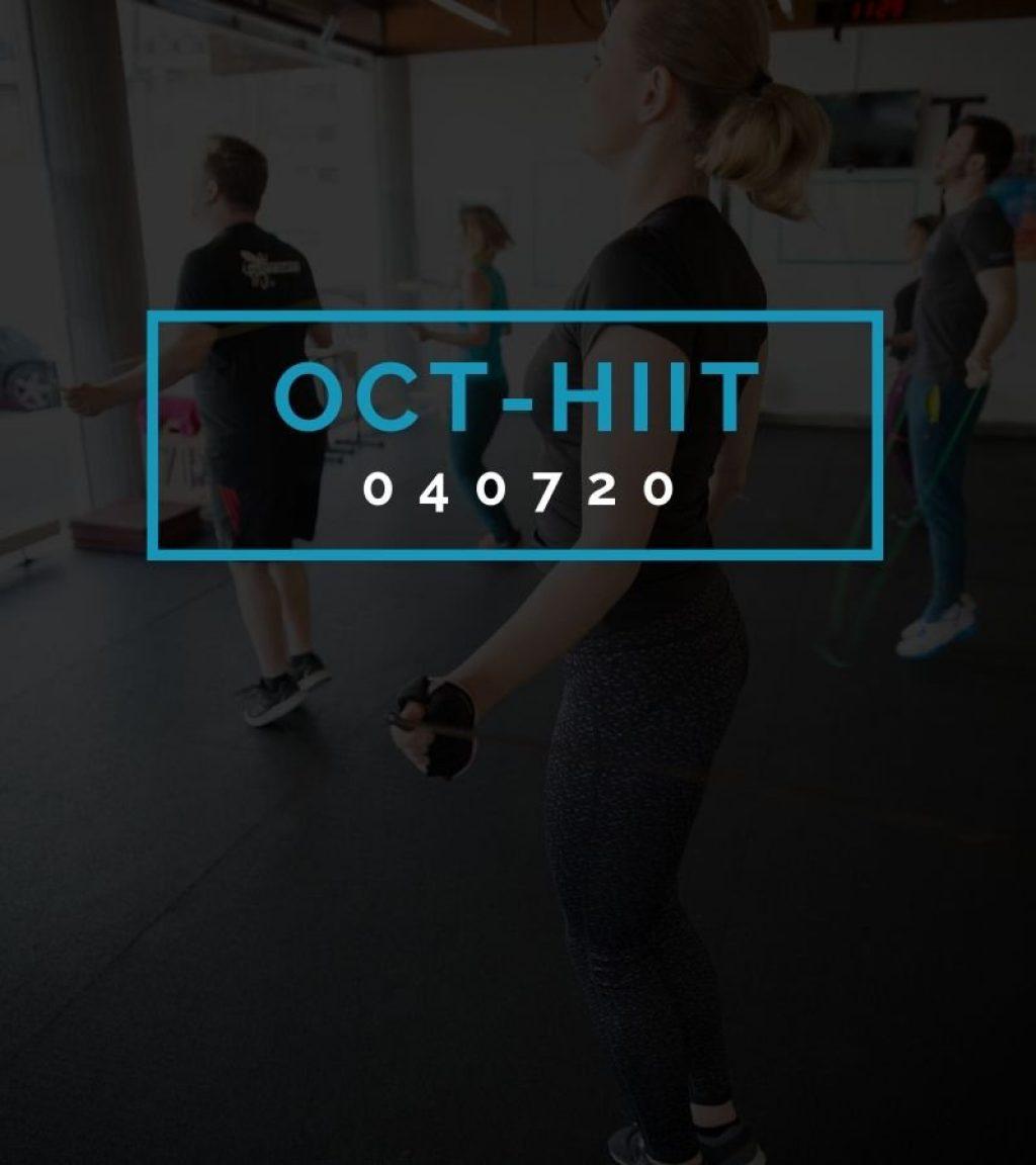 Octofit High Intensity Intervall Programming OCT-HIIT 040720