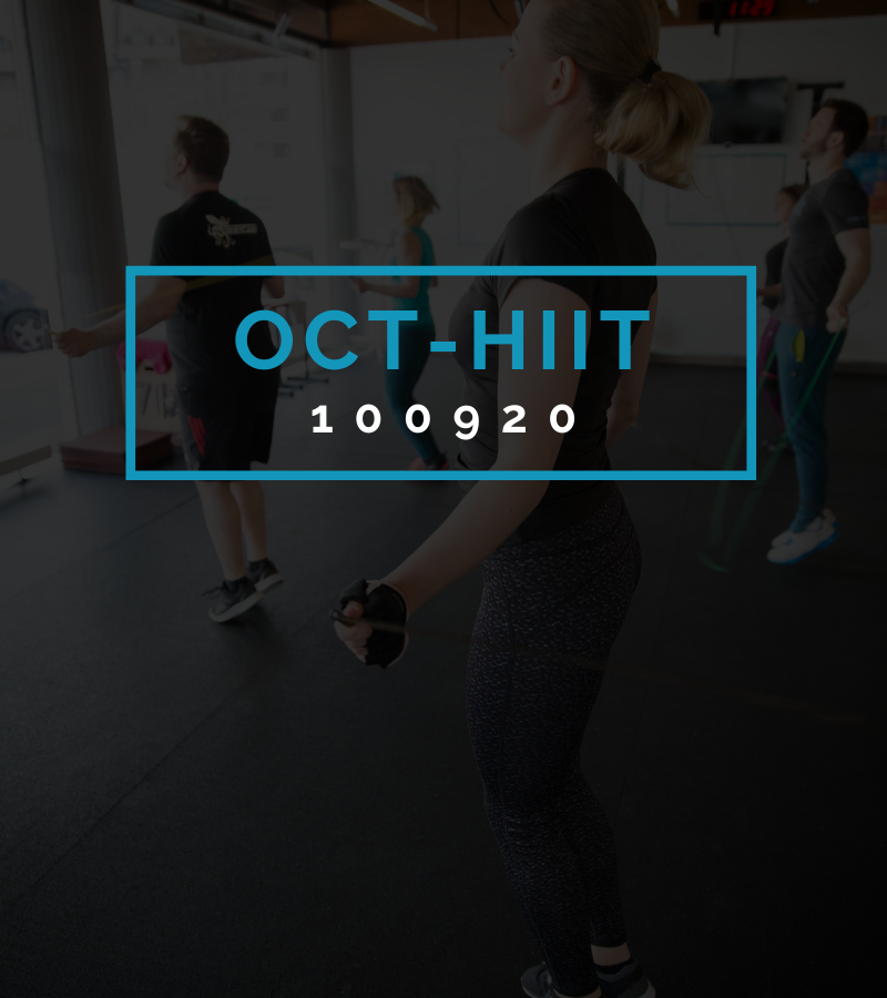 Octofit High Intensity Intervall Programming OCT-HIIT 100920