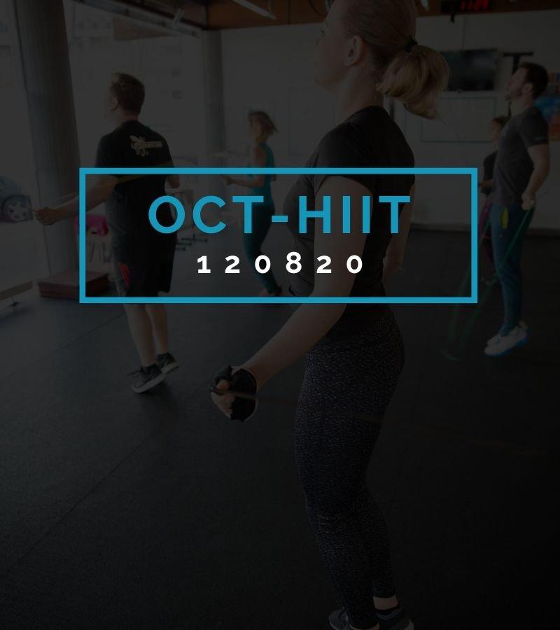 Octofit High Intensity Intervall Programming OCT-HIIT 120820