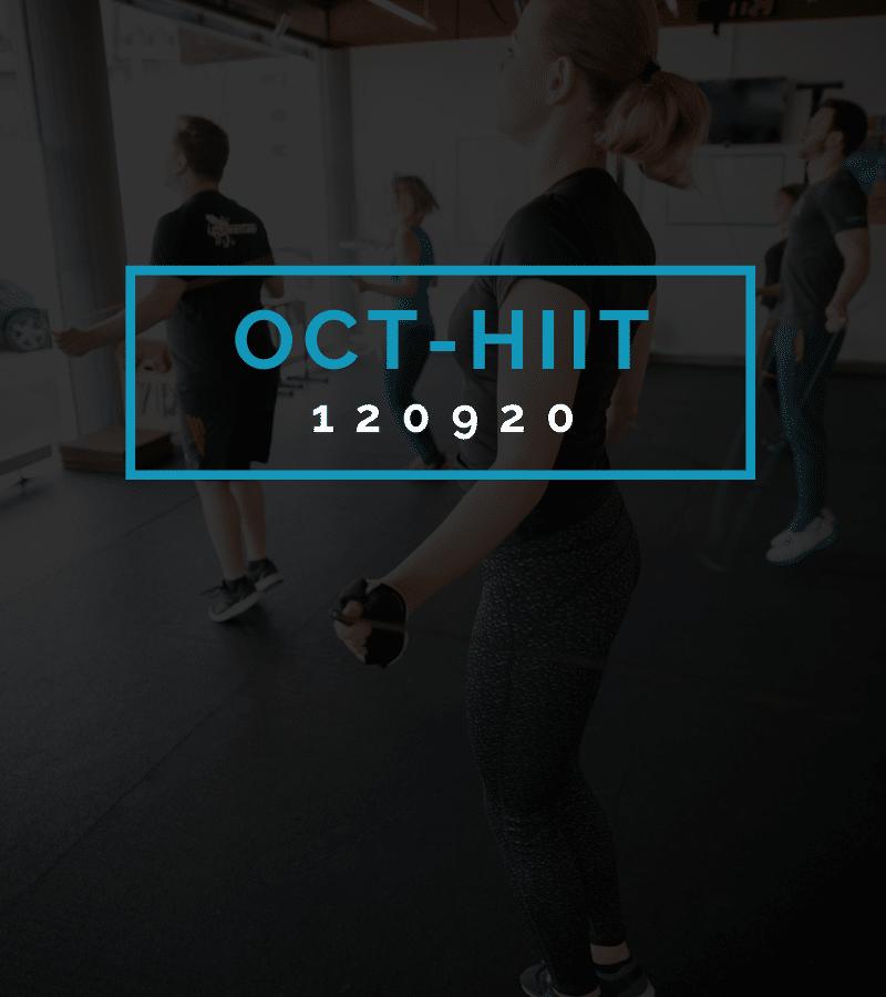 Octofit High Intensity Intervall Programming OCT-HIIT 120920