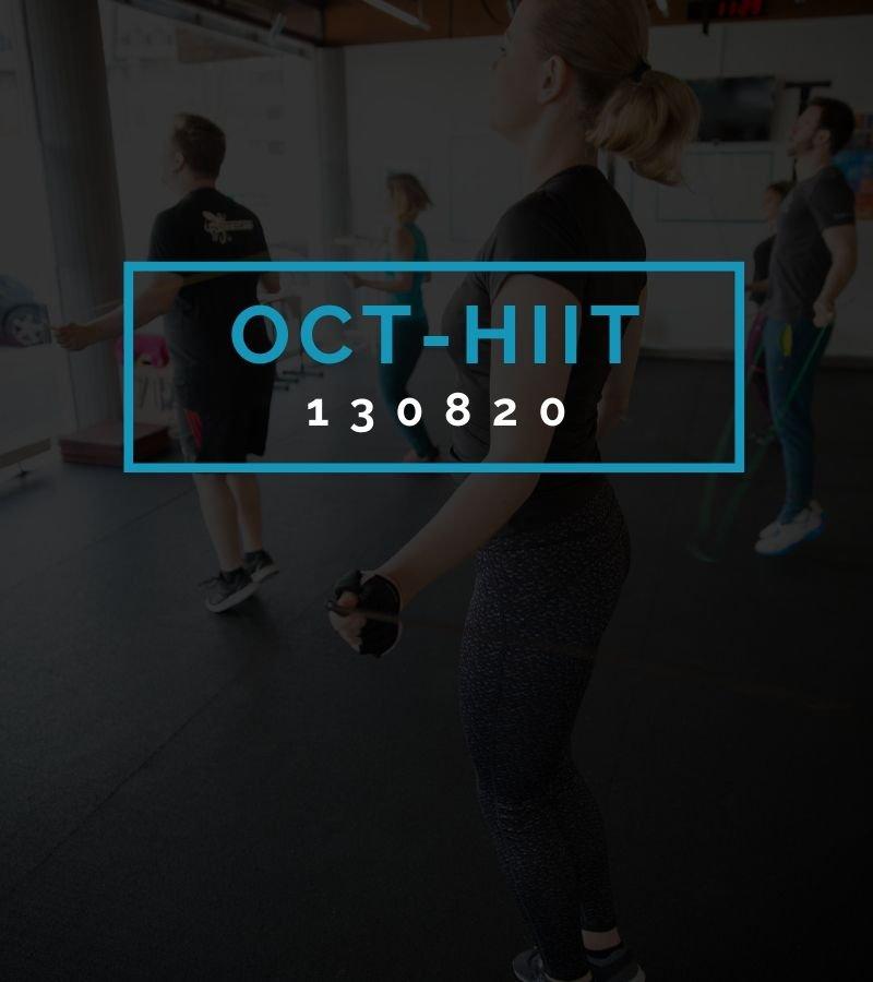 Octofit High Intensity Intervall Programming OCT-HIIT 130820