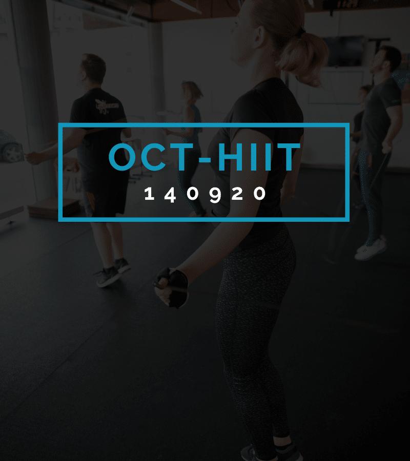 Octofit High Intensity Intervall Programming OCT-HIIT 140920