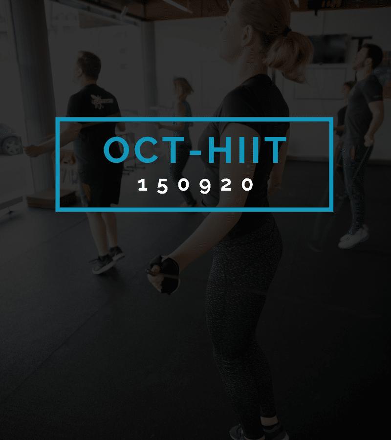 Octofit High Intensity Intervall Programming OCT-HIIT 150920