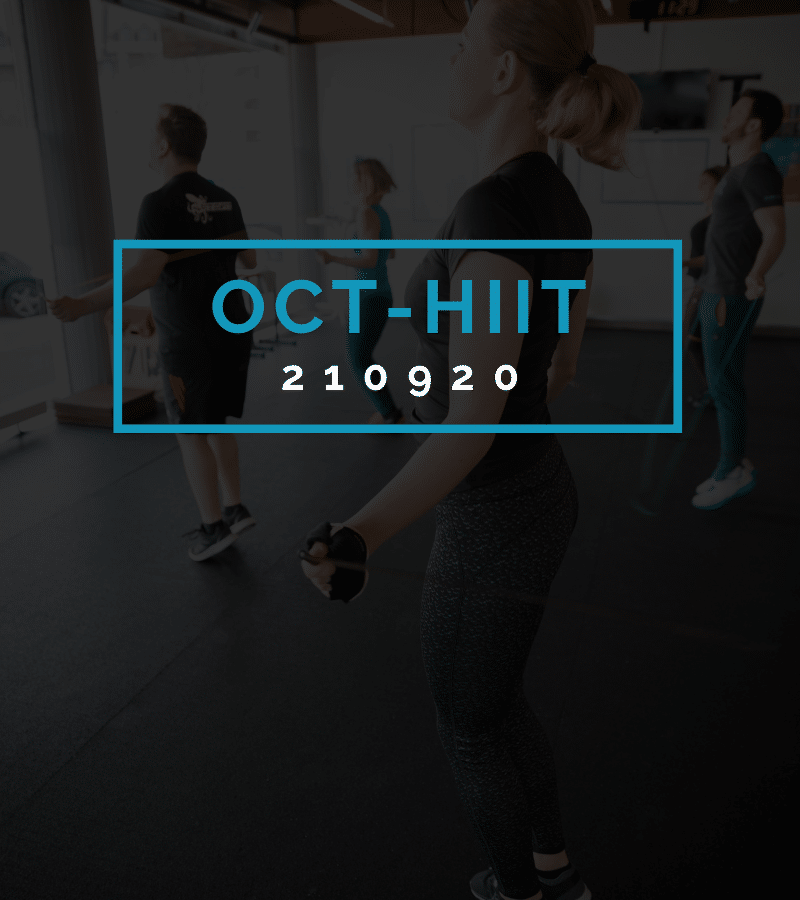 Octofit High Intensity Intervall Programming OCT-HIIT 210920