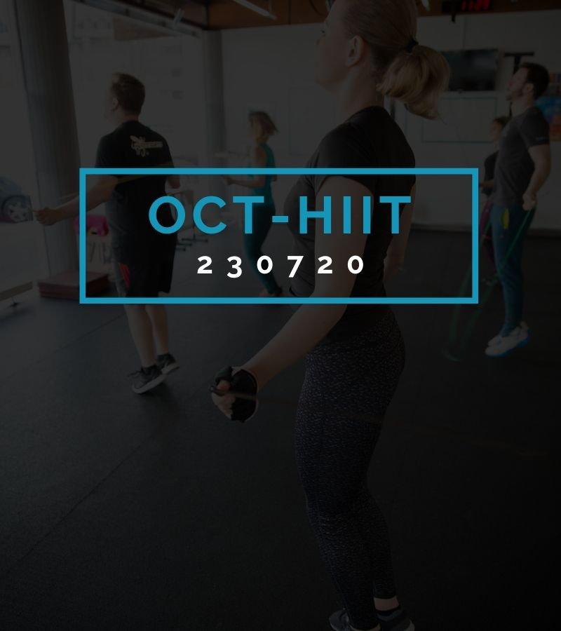 Octofit High Intensity Intervall Programming OCT-HIIT 230720