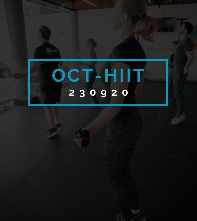 Octofit High Intensity Intervall Programming OCT-HIIT 230920