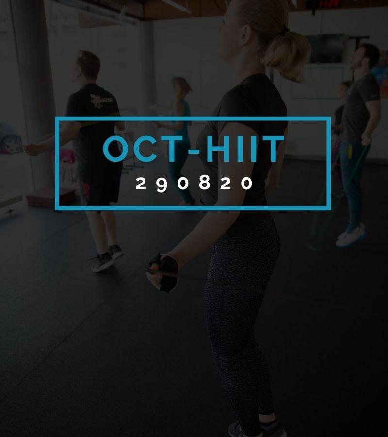 Octofit High Intensity Intervall Programming OCT-HIIT 290820