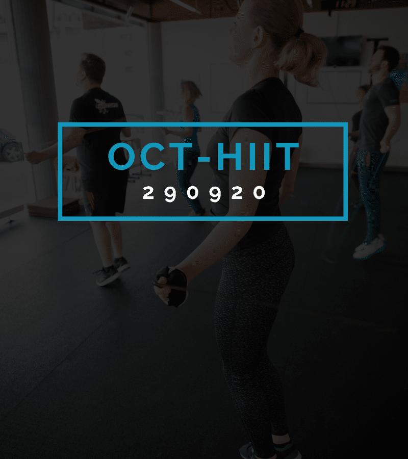 Octofit High Intensity Intervall Programming OCT-HIIT 290920