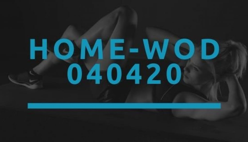 Octofit Home WOD 040420
