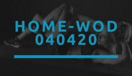Octofit Home WOD 040420