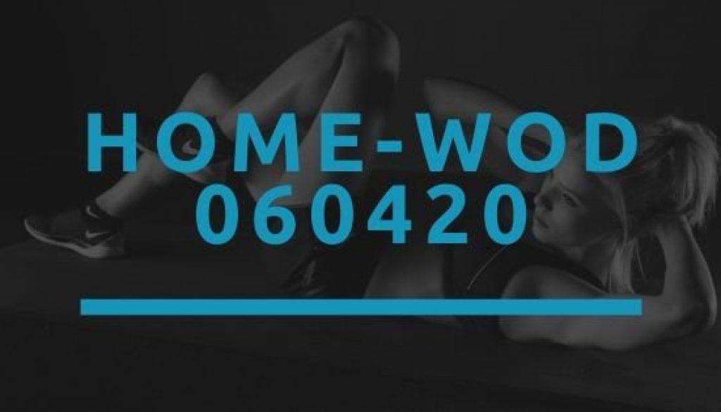 Octofit Home WOD 060420