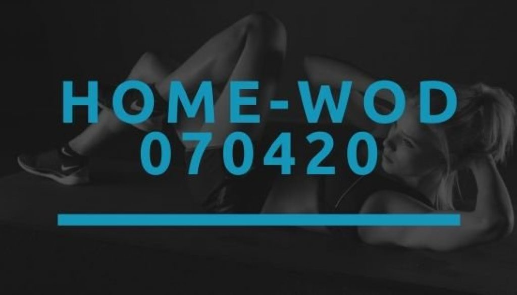 Octofit Home WOD 070420