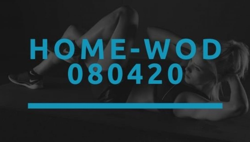 Octofit Home WOD 080420