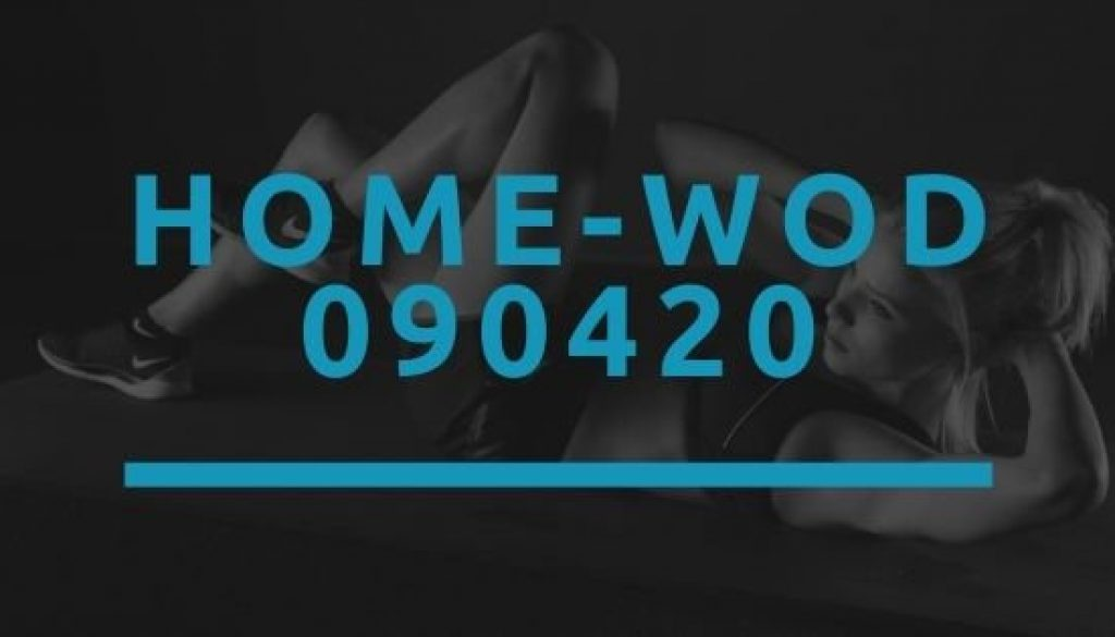 Octofit Home WOD 090420